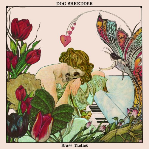 "As it is, the cover to Dog Shredder's ""Brass Tactics"" is pretty bad-ass, but the fact that it's an allusion to the cover of Chick Corea's album ""The Leprechaun"" makes it twice as sinister (Don't worry, Chick Corea isn't dead)."