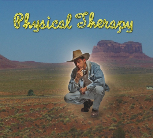 """If this glowing hipster-cowboy kneeling in the desert becomes a major plot point in the """"Breaking Bad"""" finale, I'm going to be pissed."""