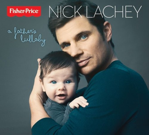 While this is intended as a tender moment, I can't help but feel like Lachey is about to have a Lennie from Of Mice and Men moment.