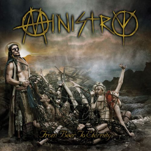 The album title might seem horrible, but seeing Al Jourgensen's head Photoshopped onto a muscle bound slave driver might cause Ministry purists to a life of eternal drinking.