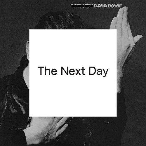 It must be difficult for legendary artists like Neil Young, Bob Dylan, and Paul Simon to still make music, decades removed from their most innovative, memorable work. No matter what they do, it will always be compared to their seminal work.  With his cover for The Next Day, David Bowie makes a statement about this inability to shake the past, using the iconic image from his classic album Heroes and plastering a white box over top with the album title The Next Day printed across in a simple font. Bowie will always be held up against his past, and this cover is a sly nod toward this inescapable truth.