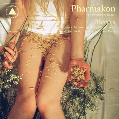 A photo of a girl's lap filled with maggots may seem a bit jarring, but it's not nearly as shocking as Pharmakon's harsh music.