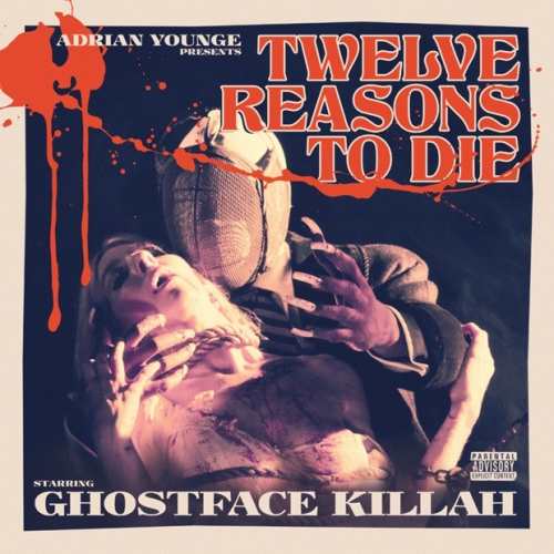 This mock movie poster is the perfect introduction to Ghostface Killah's cinematic masterpiece Twelve Reasons To Die. Now if they'd only make a movie of his story of Tony Stark seeking revenge upon the Deluca family.
