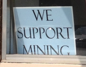 I'm sorry Hibbing, but no amount of signage is going to bring the mining boom back to town.