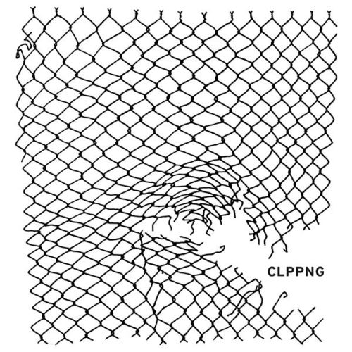 I can't think of a more fitting image than a broken chain-link fence to go with noise rapper Clipping's break-through album, CLPPNG.