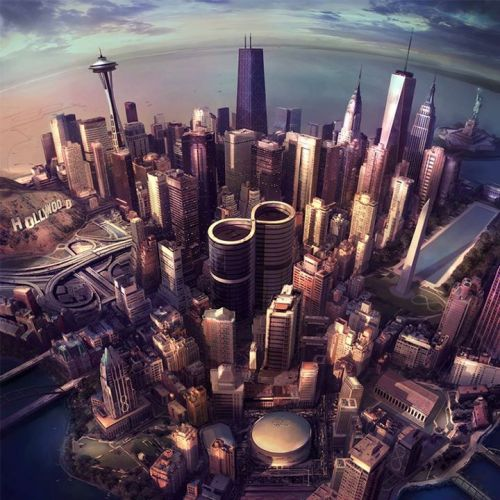 Even if you're not a fan of the Foo Fighters, the 2014 HBO documentary series Sonic Highways is a must-see for music aficionados.  The album that coincides with the project features an amalgam of city skylines that graced the 8-part series. This cover is the embodiment of the urban American culture that helped define our rich musical history.