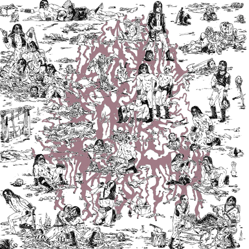 This probably doesn't belong alongside the other great covers on this list, but there's something I enjoy about the idea of Where's Waldo being lost in this world of sexual deviants, S&M torture, and corpse paint.